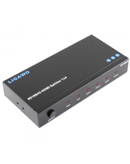 Louer, location, HDMI Splitter, 4 voies 1 entrée 4 sorties, aix en Provence
