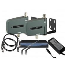 Amplificateur antenne, 470-960 MHz, UHF pour micros sans fil