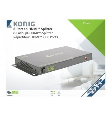 Location, Switch, splitter HDMI, professionnel 8 ports, Konig, aix en Provence
