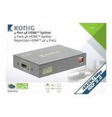 Location, Switch, splitter HDMI, professionnel 4 ports, Konig, aix en Provence