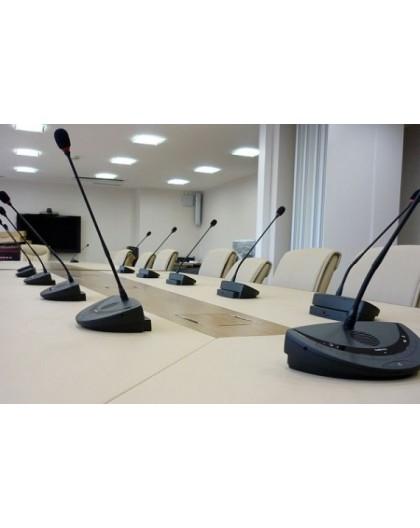 Location, système de micros conférence col de cygne sans fil, 15 personnes, aix en Provence