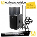 Location Pack son 1500W Rms 3000W Music