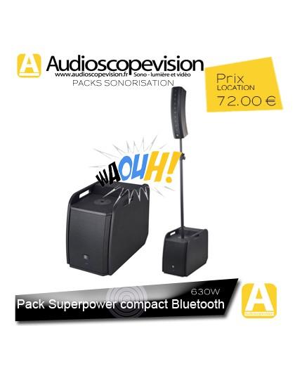 Location Pack sono 630W RMS colonne design type line array Bluetooth Aix en Provence location enceinte sono colonne Bluetooth Ai