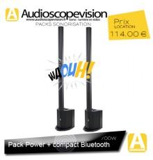 Location Pack sono 350W RMS colonne design Bluetooth Aix en Provence location enceinte sono colonne Bluetooth Aix en Provence