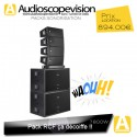 Location Pack RCF 7800W Rms 15600W Music