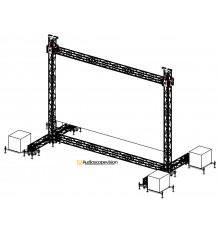 Location structure pour écran plein jour écran extérieur grand écran aix en provence