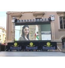 Location ecran led, plein jour, extérieur, mur led, écran géant, location grand écran, aix en provence, outdoor, Aubagne, cassis