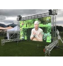 Ecran led, 5m x 3m, plein jour, extérieur, grand écran, écran géant, led outdoor, aix en provence