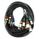 Location Câble Multi-Paires XLR-Jack 6.35 - 8 - 3m